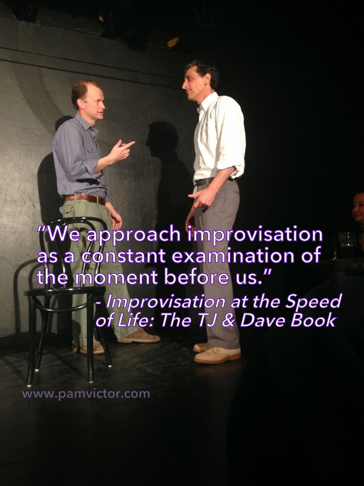 Essay on how improv helps you in life