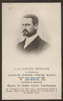 Dokter en korpsgeneesheer van de brandweer van Brugge Charles Verté (1854-1908)