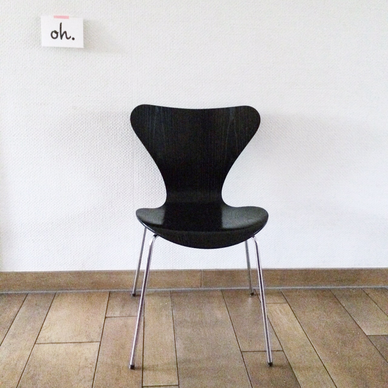 Fritz Hansen chair 3107