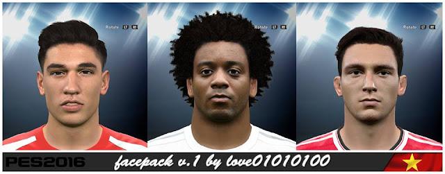 PES 2016 Facepack v.1 by love01010100
