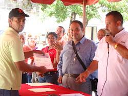 Entrega de Recursos a los Consejos Comunales de Municipio Independencia