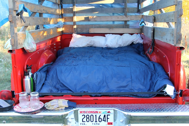 "Truck ""bed"""