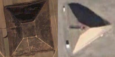 Comparación Pirámide de Xiangyang y Área 51