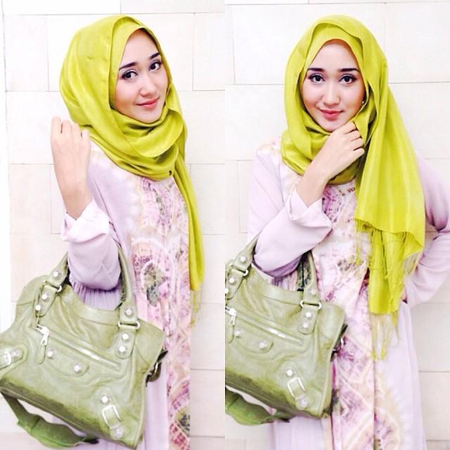 Hijab Praktis Ala Dian Pelangi