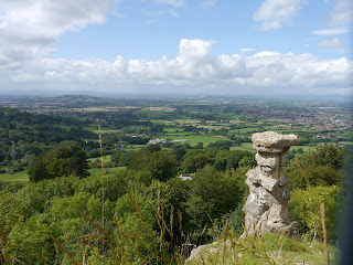 The Devil's Chimney on the Cotswold Edge above Cheltenham, Cotswold Way