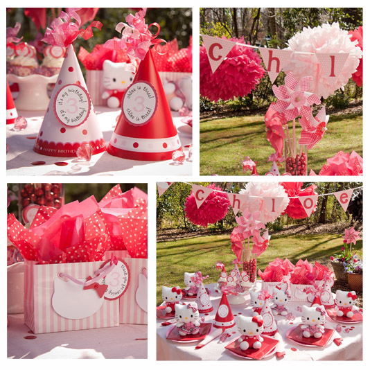 Fiesta hello kitty party ideas decoracion en fiestas - Ideas fiestas tematicas ...