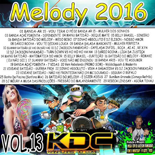 CD KDC MELODY VOLUME 13
