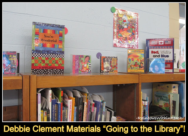 "photo of: ""Going to the Library"" Debbie Clement materials in Public Library {Receive FREE Mp3 of song, ""Going to the Library}"