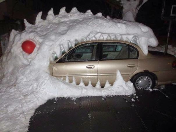 snow art examples