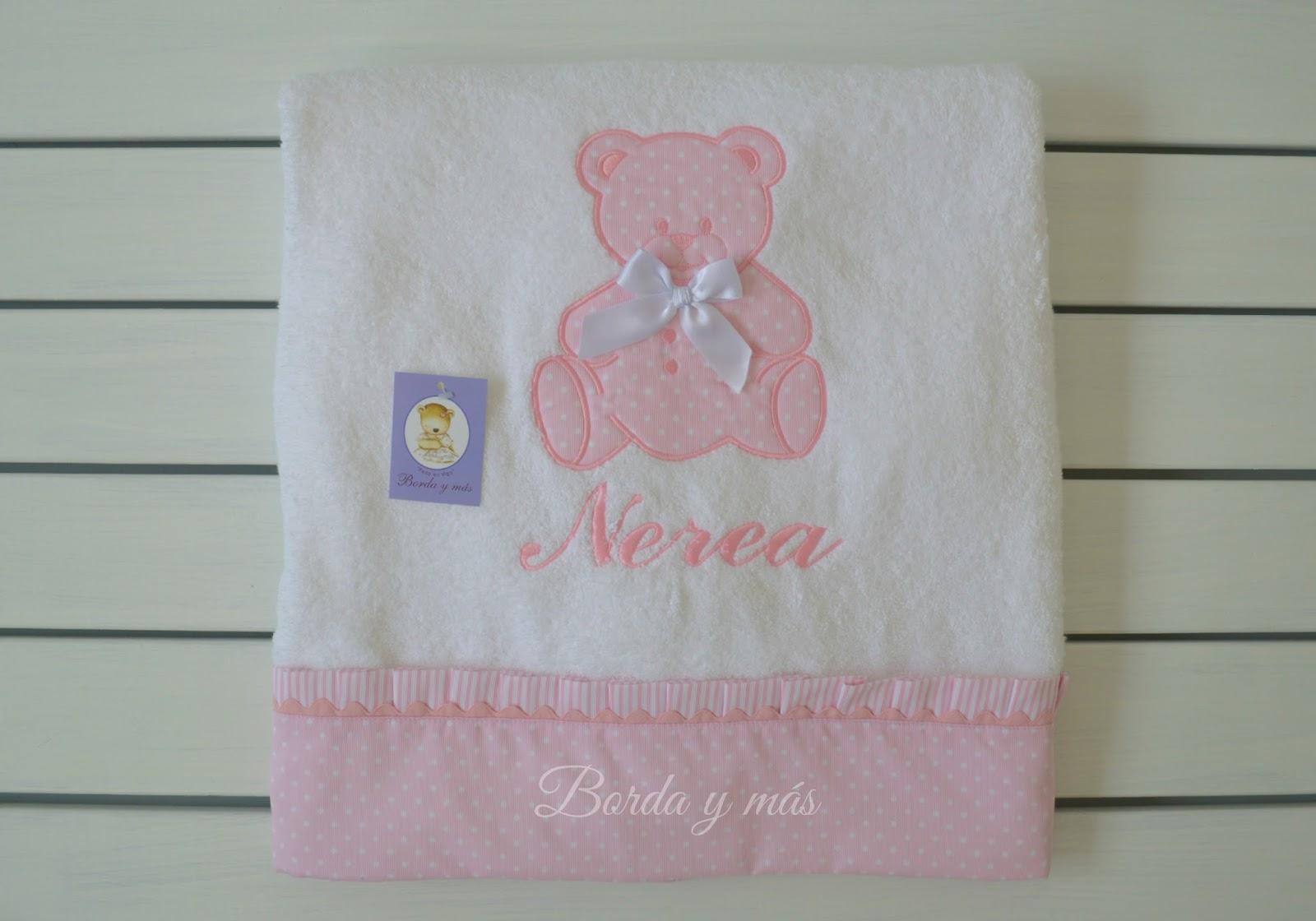 regalo toalla bebe