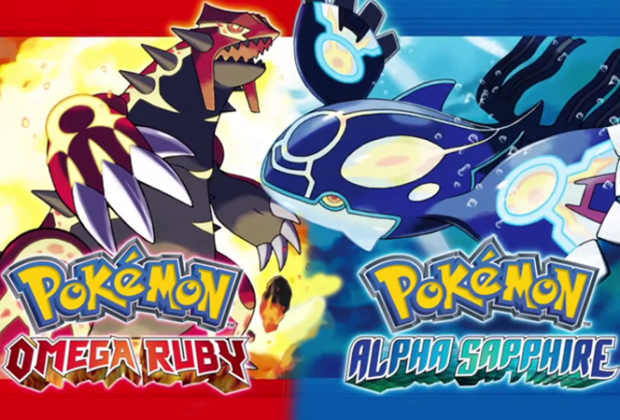 Pokémon Omega Ruby and Alpha Sapphire 3DS ROMS