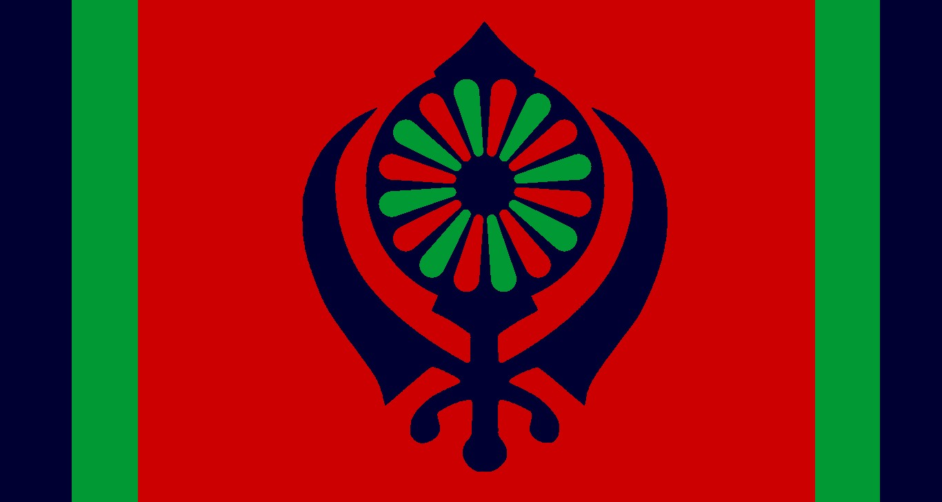 The voice of vexillology flags heraldry july 2015 flag for people of gypsy and sikh heritages biocorpaavc