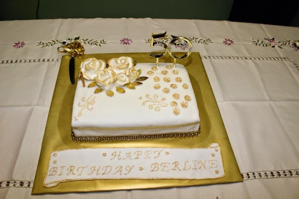 Ajantha Cakes/50th Birthday Cakes