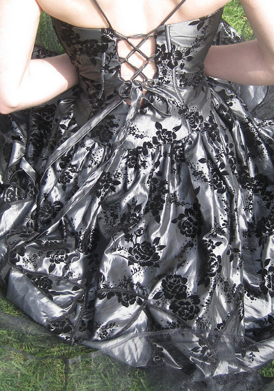 Fairy Ball Gown Gothic Wedding Dresses in Black Personalize Your Huge Day