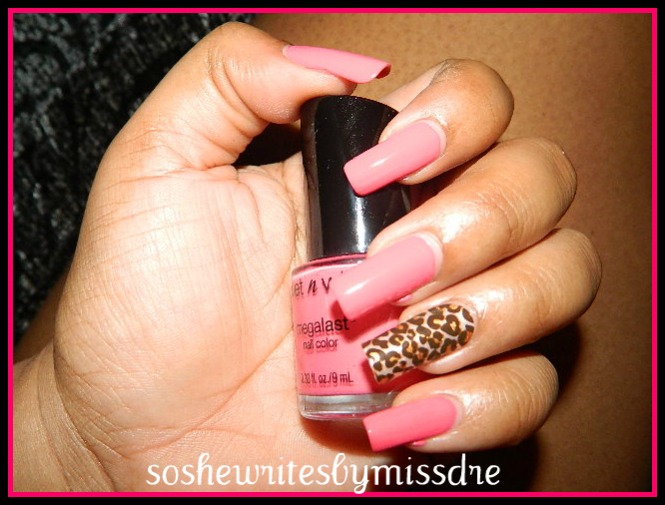 Pink Wednesday: Featuring Kiss Nail Dress - So She Writes by Miss ...