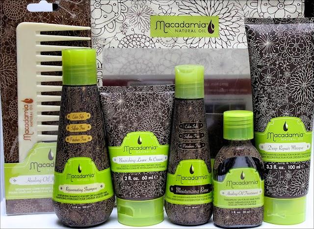 macadamia, tinh dầu macadamia, dầu xả, dầu gội, kem hấp, kem xả, xịt dưỡng tóc