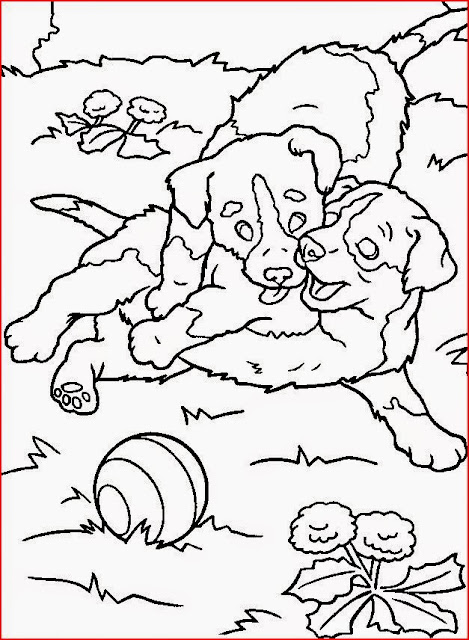 Dog coloring pages holiday.filminspector.com