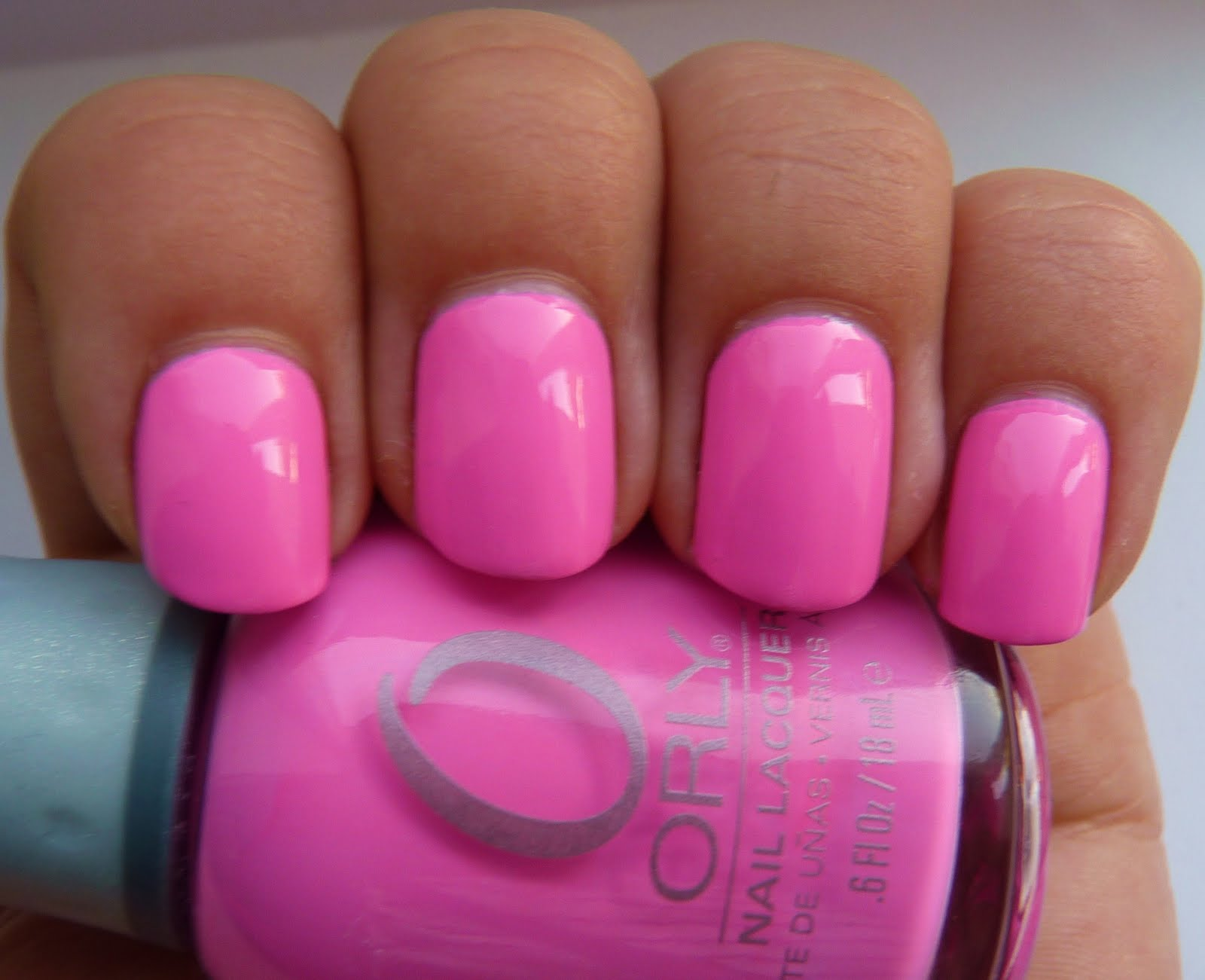 Fancy Pink Nails