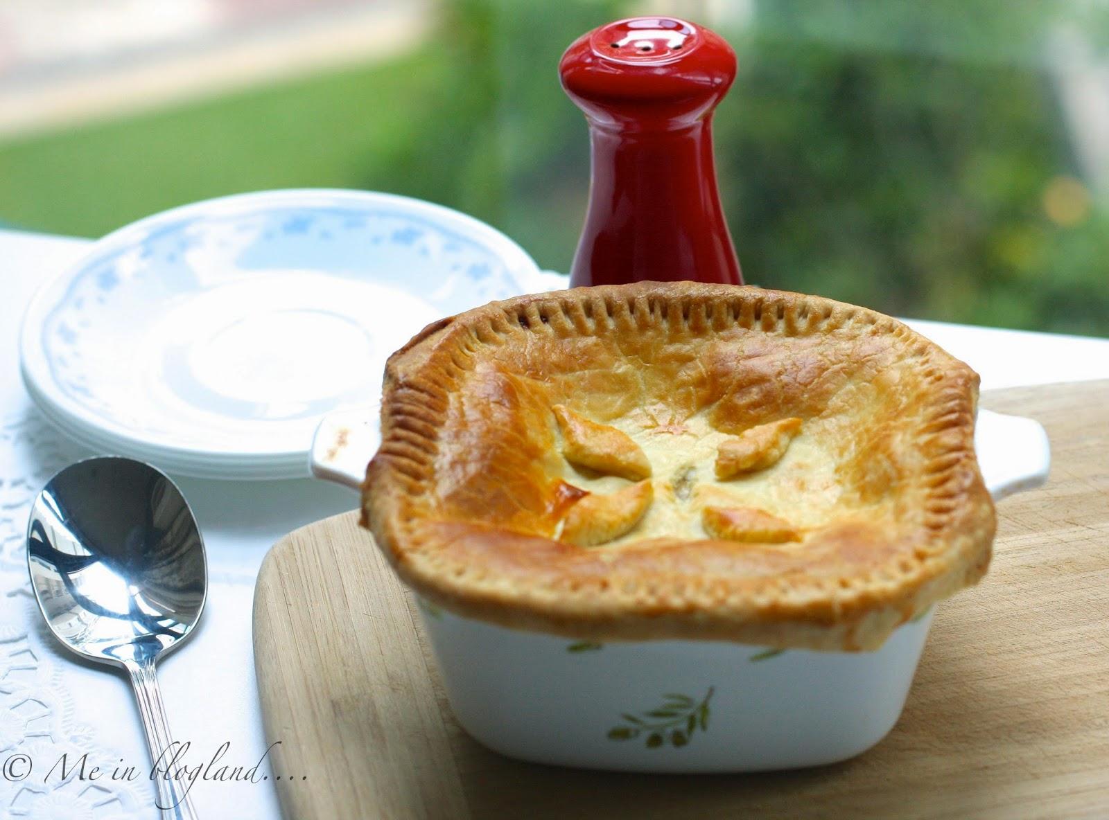 Baker's Corner: Vegetable Pot Pie