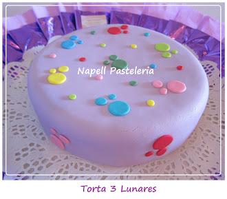 Torta 3 lunares