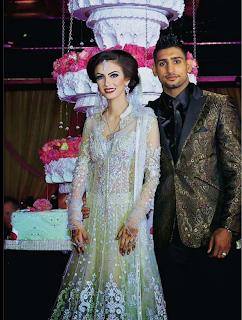 latest Amir Khan Boxer Wedding Images