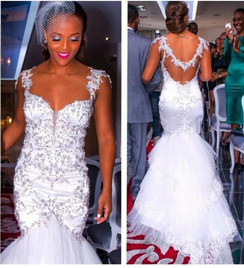 Angolan Bride Spends $200,000 On Bridal Attire While