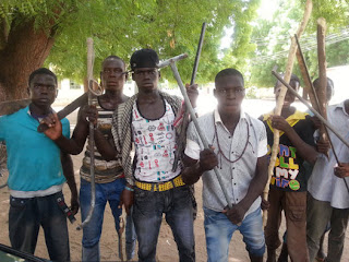 civilian jtf arrest boko haram members