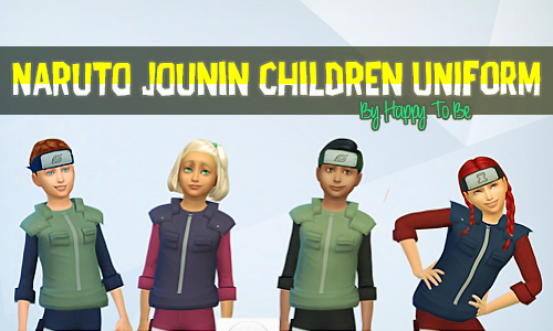 how to create naruto in the sims 4