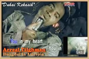 Arreal Tilghman penyanyi dangdut pertama di Amerika