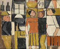 JOAQUÍN TORRES GARCÍA Figuras en un almacén 1949