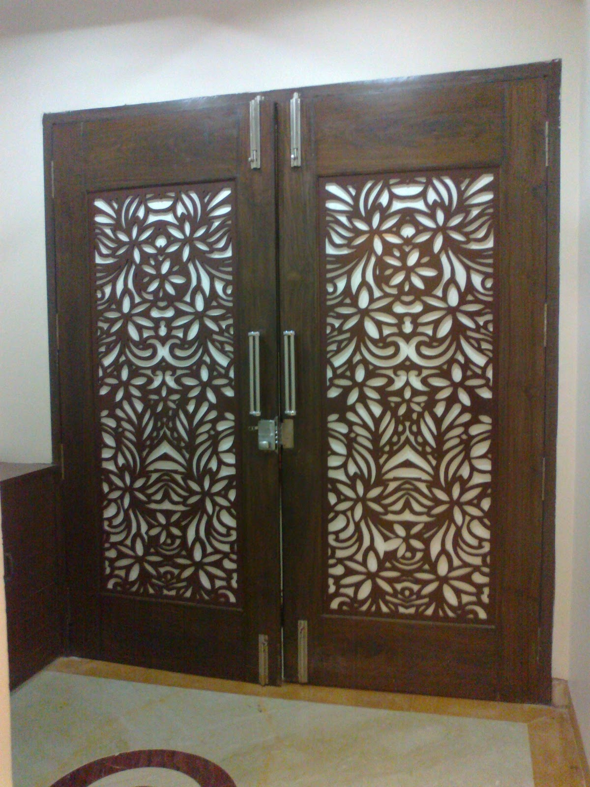 Elegant design for living for Entrance door designs photos