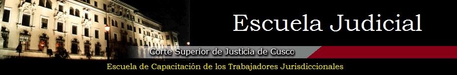 Escuela Judicial