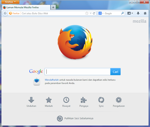 Download Mozilla Firefox 28.0 Beta 8 Update Terbaru 2014