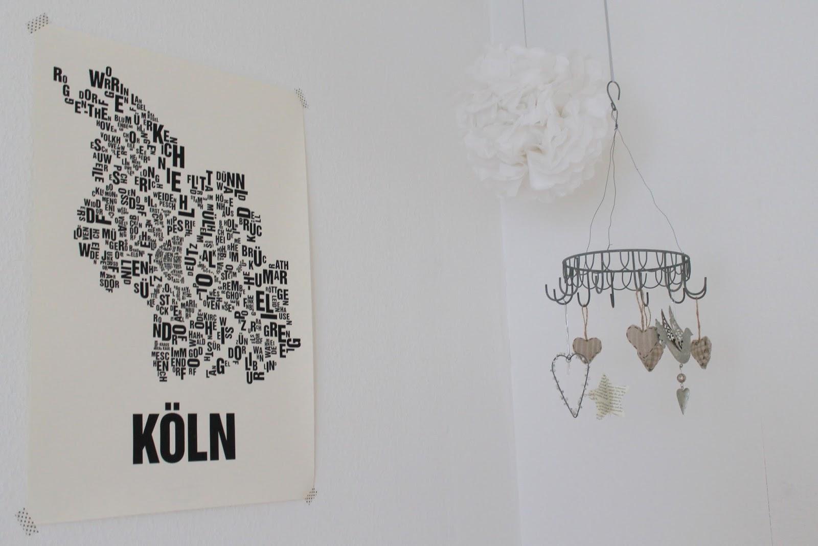 Koeln Typo Poster, Pompom