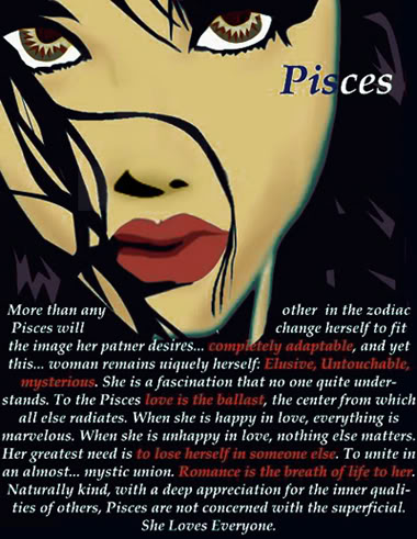 pisces woman and love