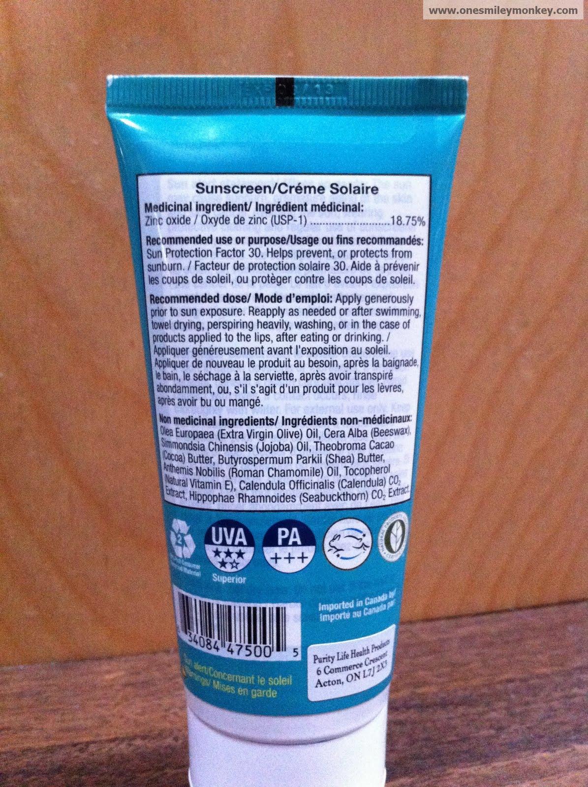 Sunscreen Natural Reviews