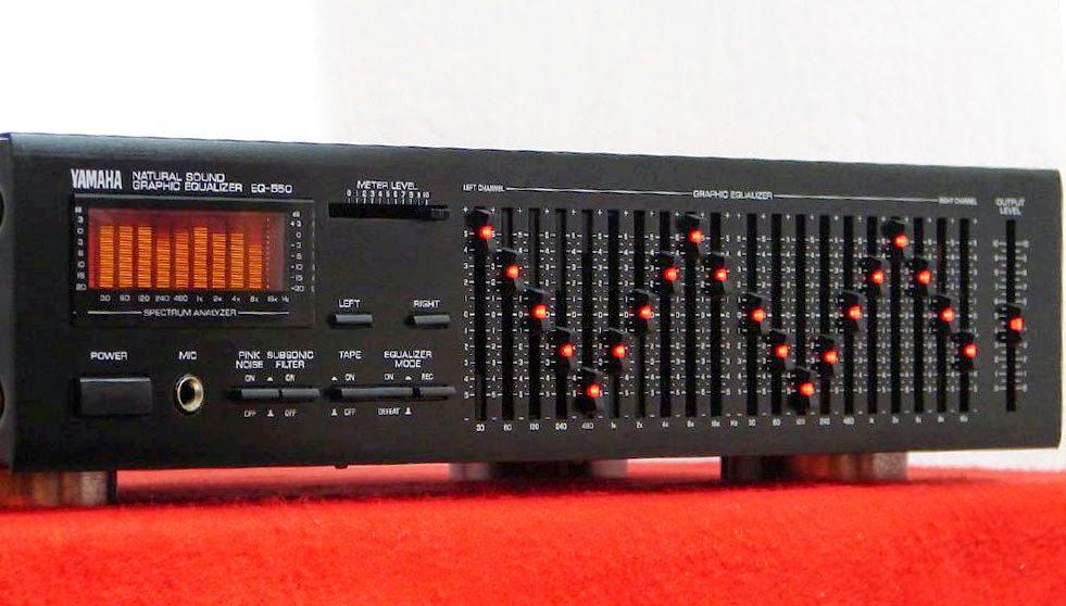 yamaha eq 550 graphic equalizer audiobaza