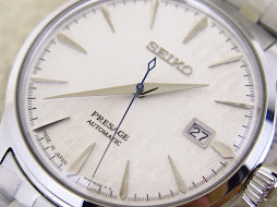 SEIKO PRESAGE WHITE SNOW FLAKE DIAL - SEIKO SRP097J1 LIMITED EDITION - AUTOMATIC 4R35B - MINT COND
