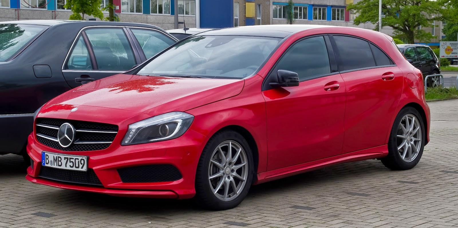 Mercedes-Benz A-Class (compact)