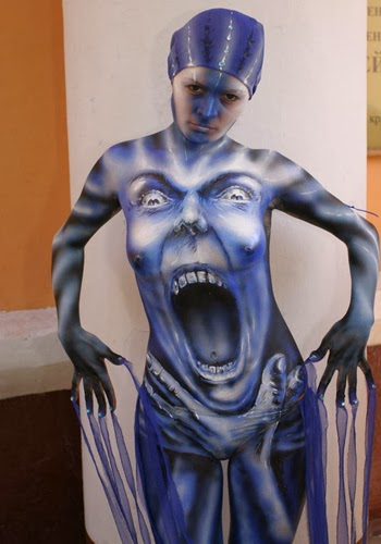 Female Body Painting