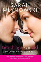 Ten Things We Did book cover Sarah Mlynowski