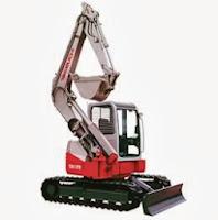 Takeuchi TB180FR Mini Excavator Durante Rentals