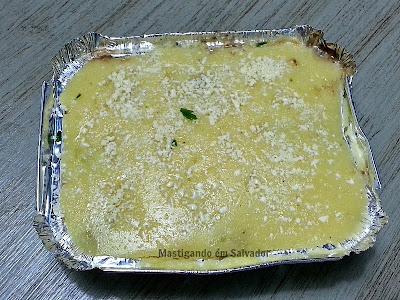 Gastronomia by Ana: Escondidinho de Moela com Polenta