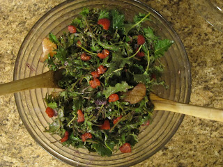 Super Delicious Kale Salad from above