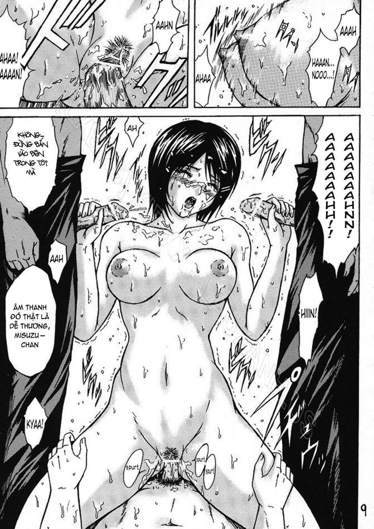 TruyenHay.Com - Ảnh 8 - Ryoujoku Rensa Chapter 2