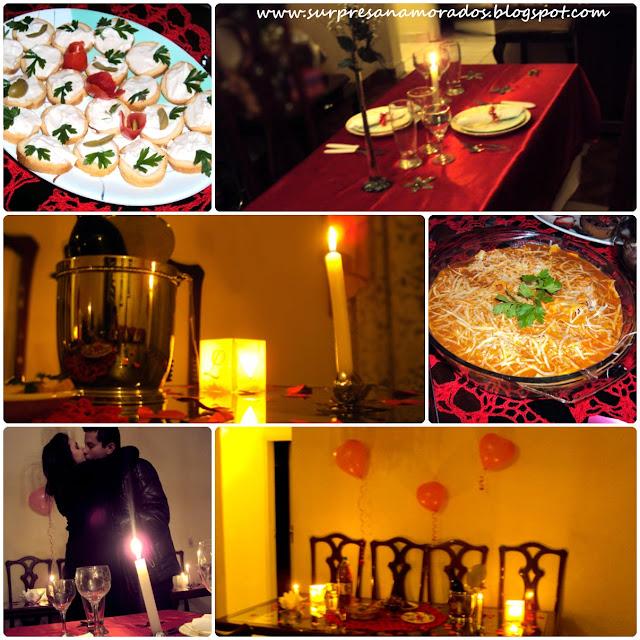 dicas para preparar um jantar romântico