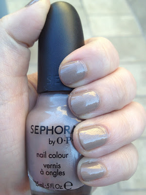 Nail of the Day- Sephora by OPI Under My Trench Coat