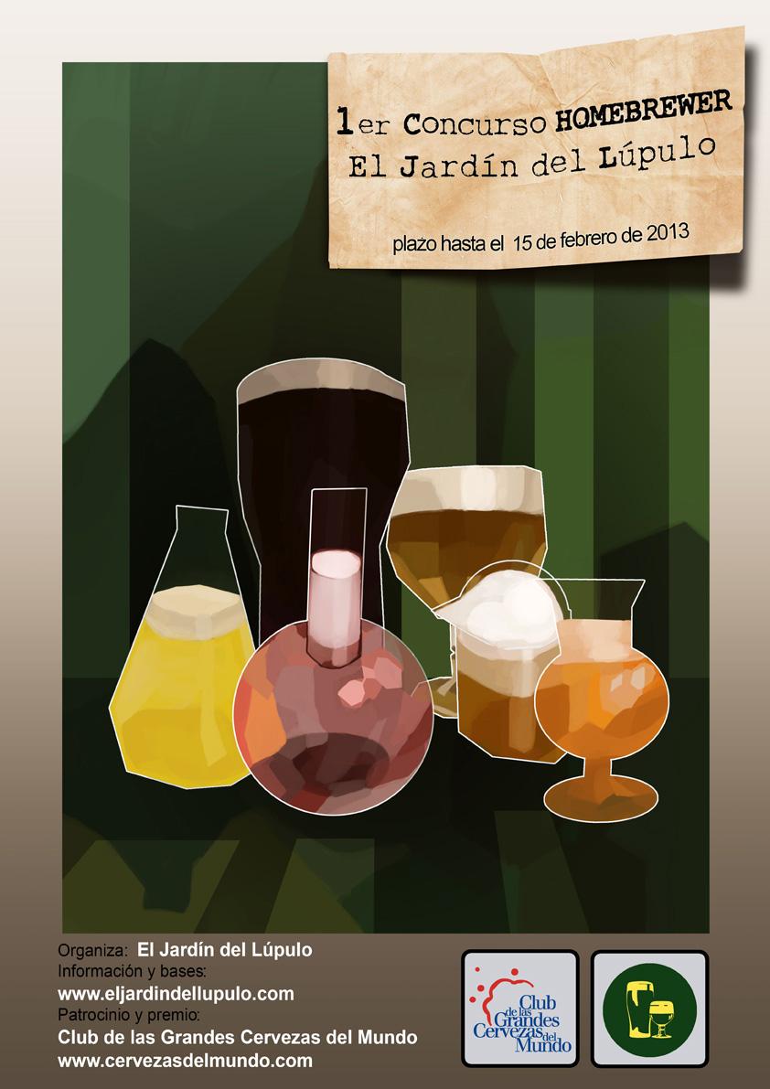 Cerveza en casa 1er concurso homebrewer el jard n del l pulo for El jardin del lupulo