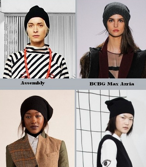 Модные головные уборы сезона осень-зима
