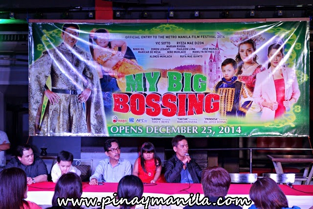 'My Big Bossing': Vic Sotto's MMFF starrer is three times bigger this year